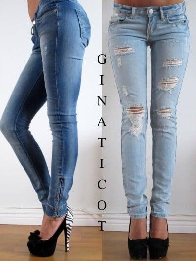 snyggaste jeansen för tjejer 2016