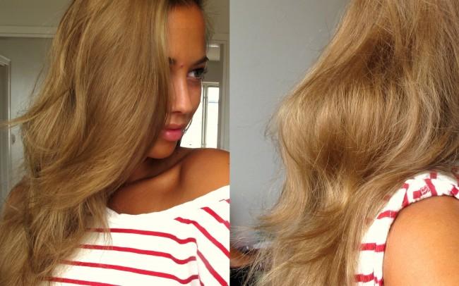 loreal färga håret