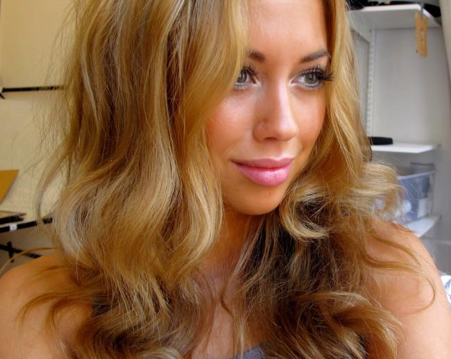 missfärgat hår orange