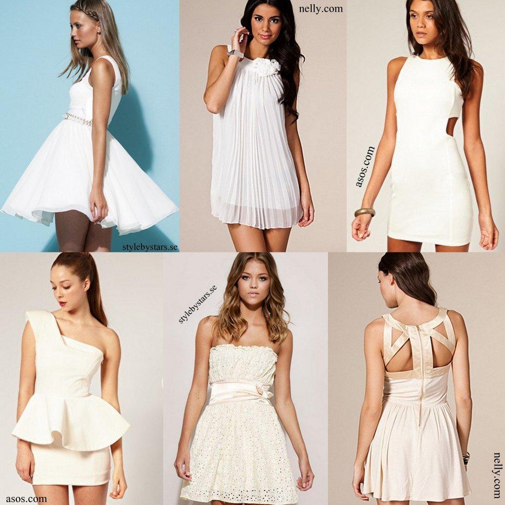 Här har ni lite tips på fina vita klänningar! Till er som ska ta studenten  – det gäller att vara ute i god tid med studentklänningen och nu är det ju  inte ... c0cedd74b6f7e