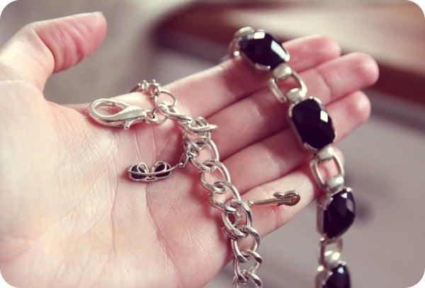 göra rent silver halsband