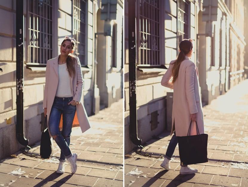 pink coat c-1