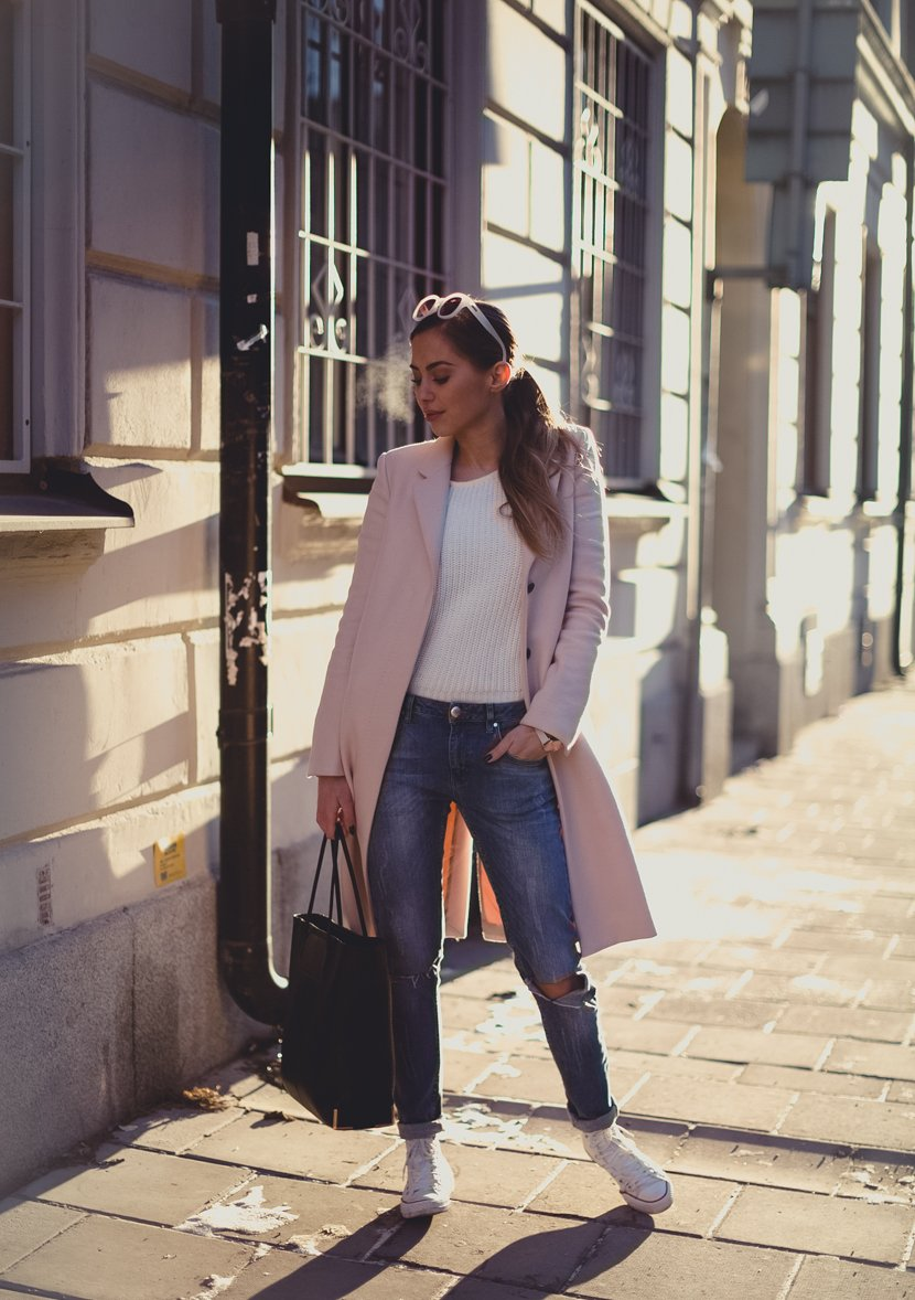 pink coat st-1