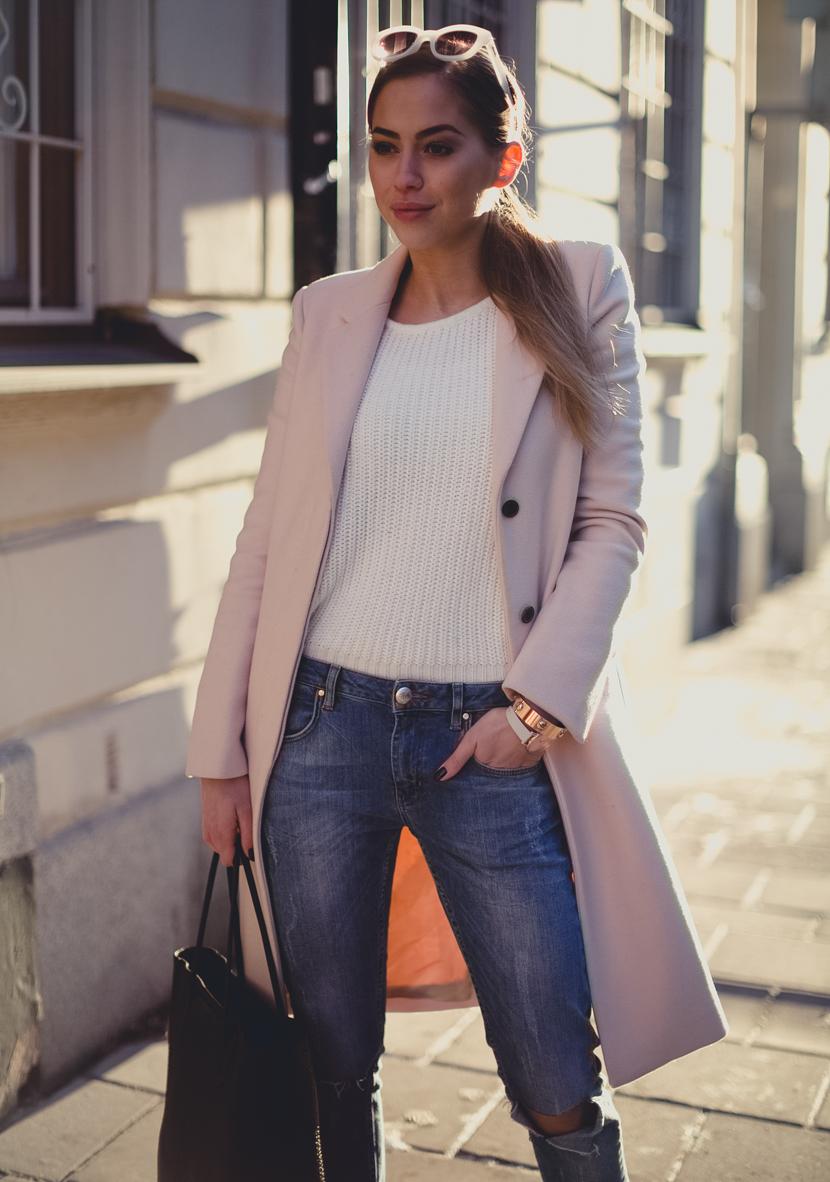 pink coat st-2