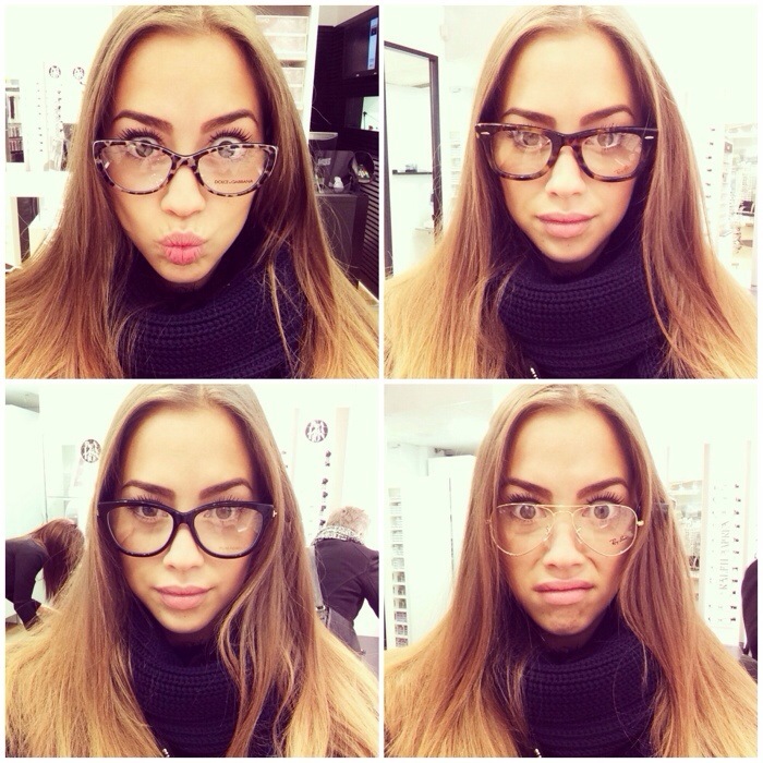 runda glasögon utan ram