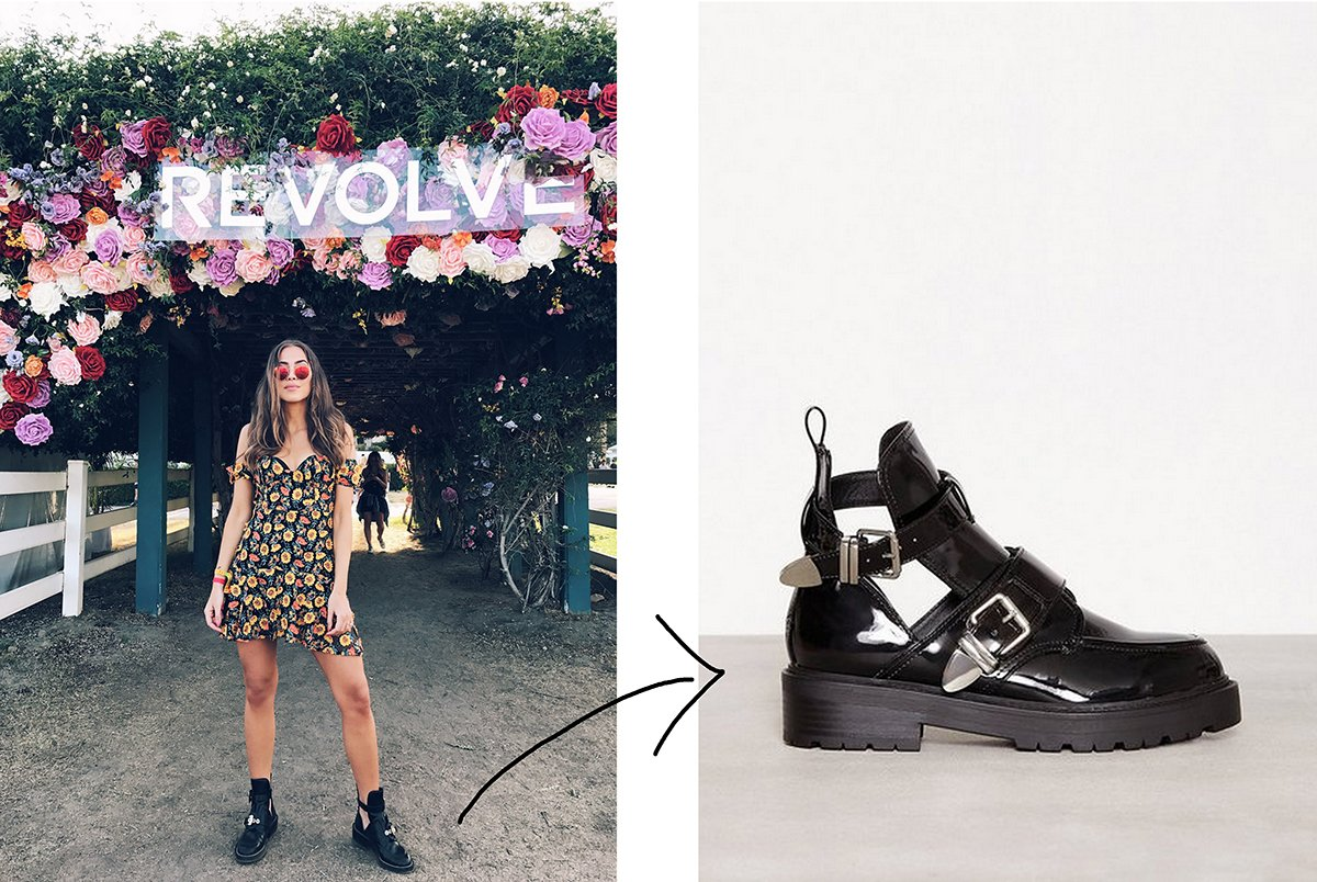 049fbe11182 To the left: me in my Balenciagas at Coachella. To the right: the budget  version from Nelly here (adlink)