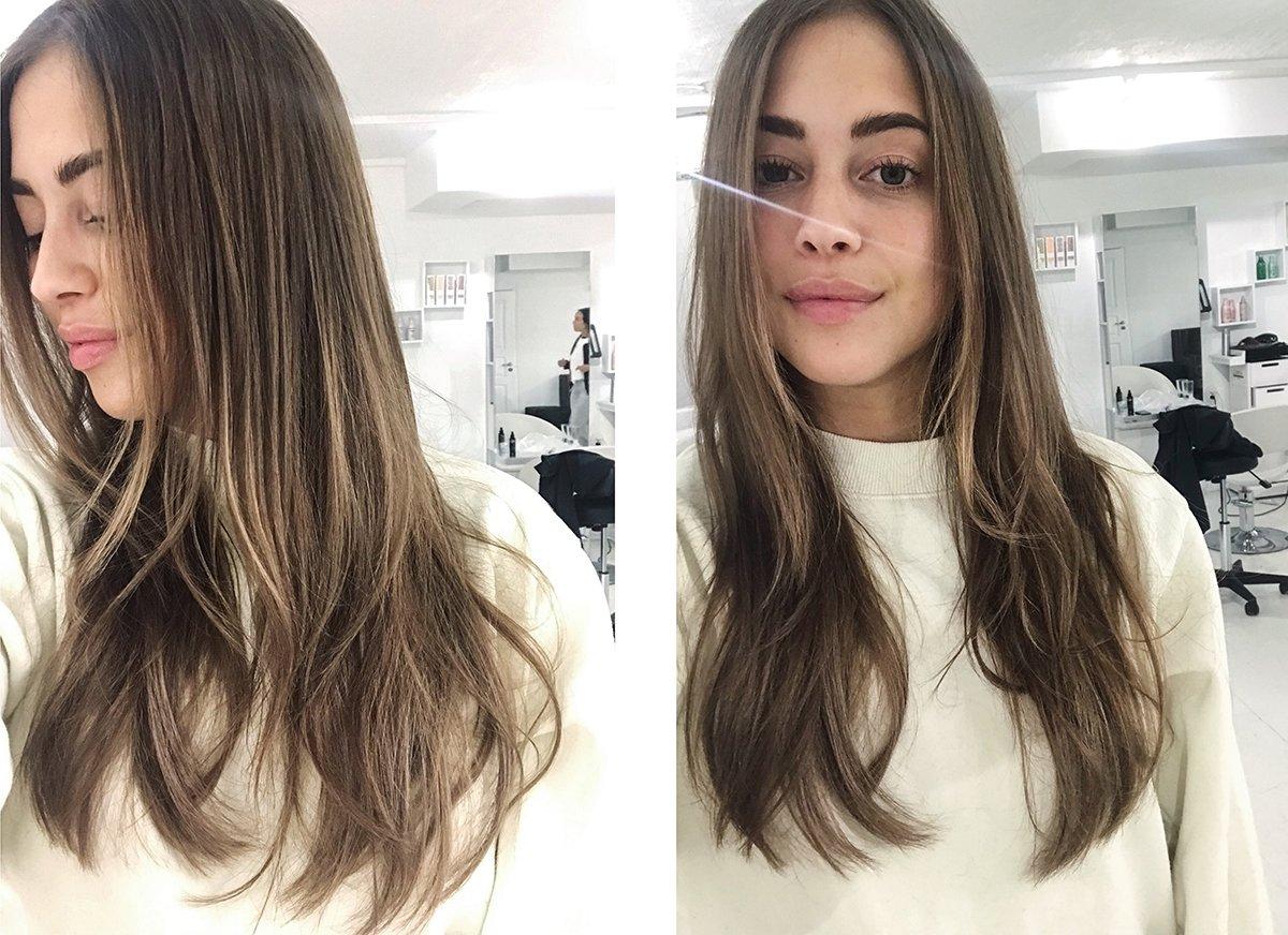 Skonsam blekning hår