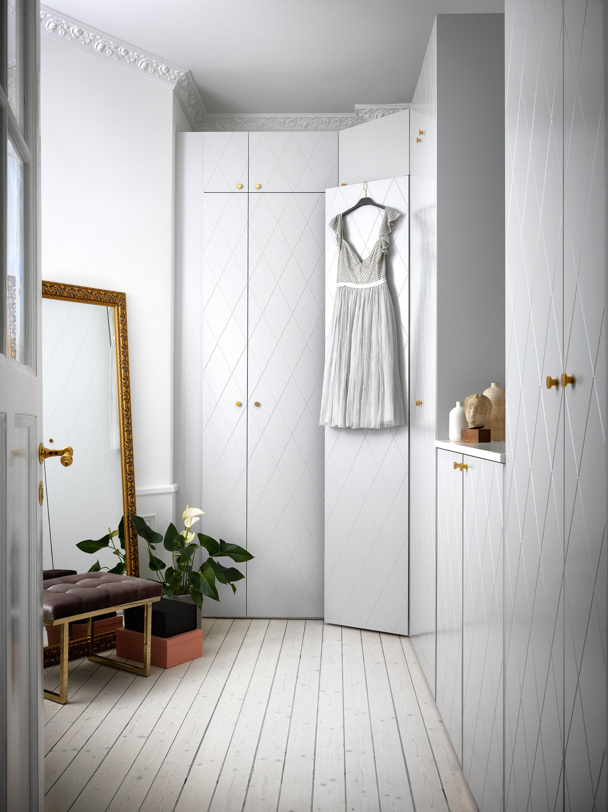 pax garderob dörr montering